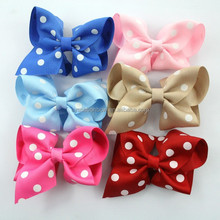 Factory High Quality Beautiful Fashion Ribbon Bows for hair decoration