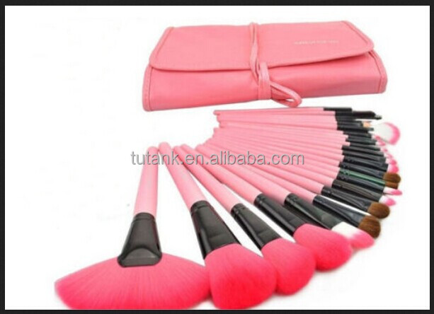 24 PCS pink Cosmetic Makeup Brush Set Make up brushes