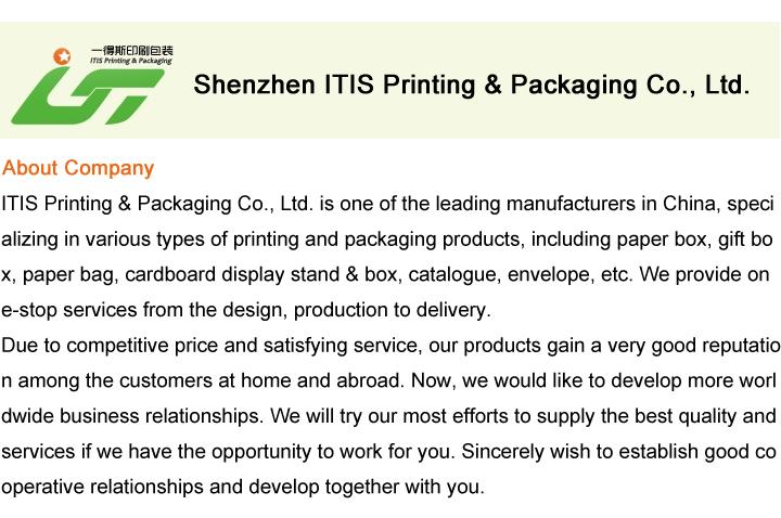China atacado livreto projeto impressão / impressão do catálogo / folheto impressão a partir de China