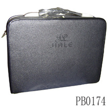 China shop online cheap wholesale pu leather briefcase bag professional laptop bag document leather bag