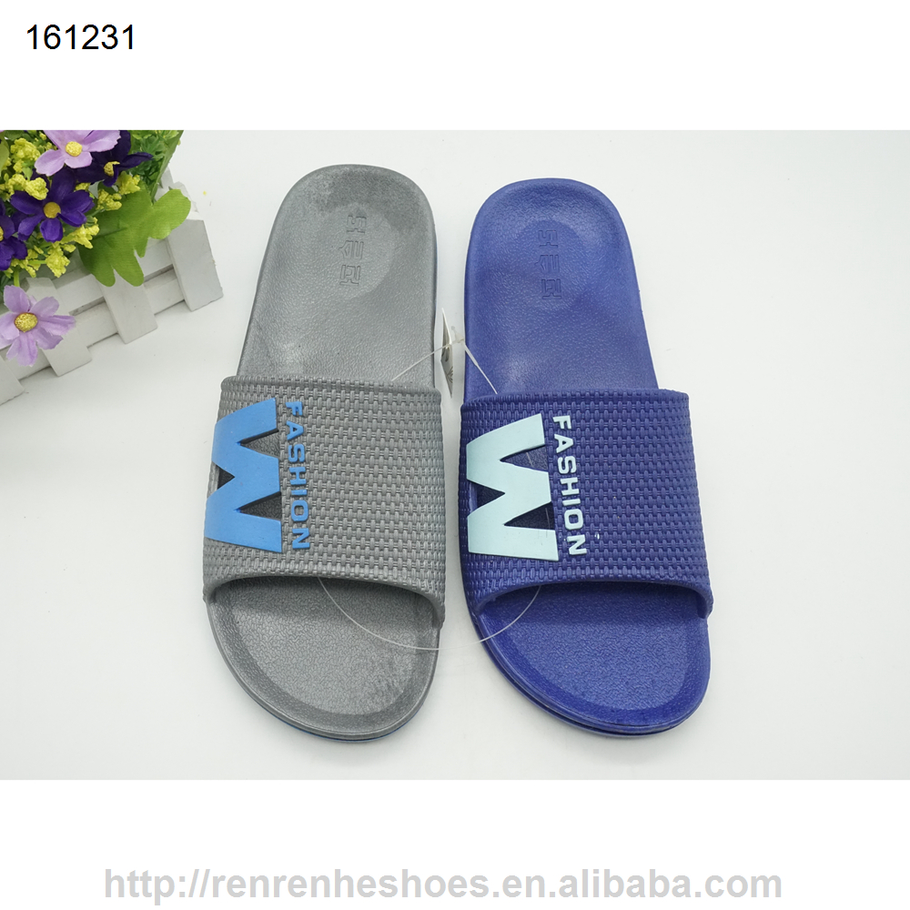 2017 pvc air blowing man house <strong>slippers</strong> wholesale