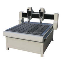 Acrylic/ MDF/ PVC/ Metal/ Furniture/ Door making processing cutting engraving machine 1212 wood carving cnc router