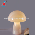 micky yellow whole mushroom glass table lamp
