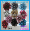 Best selling fabric flower hair accessories wholesale