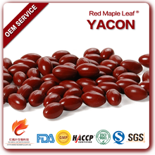 500mg Diet Weight Loss Product Yacon Root Extract Pills Softgels
