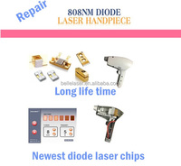 alma lasers soprano diode hand piece repair Korea technology test and recondition services