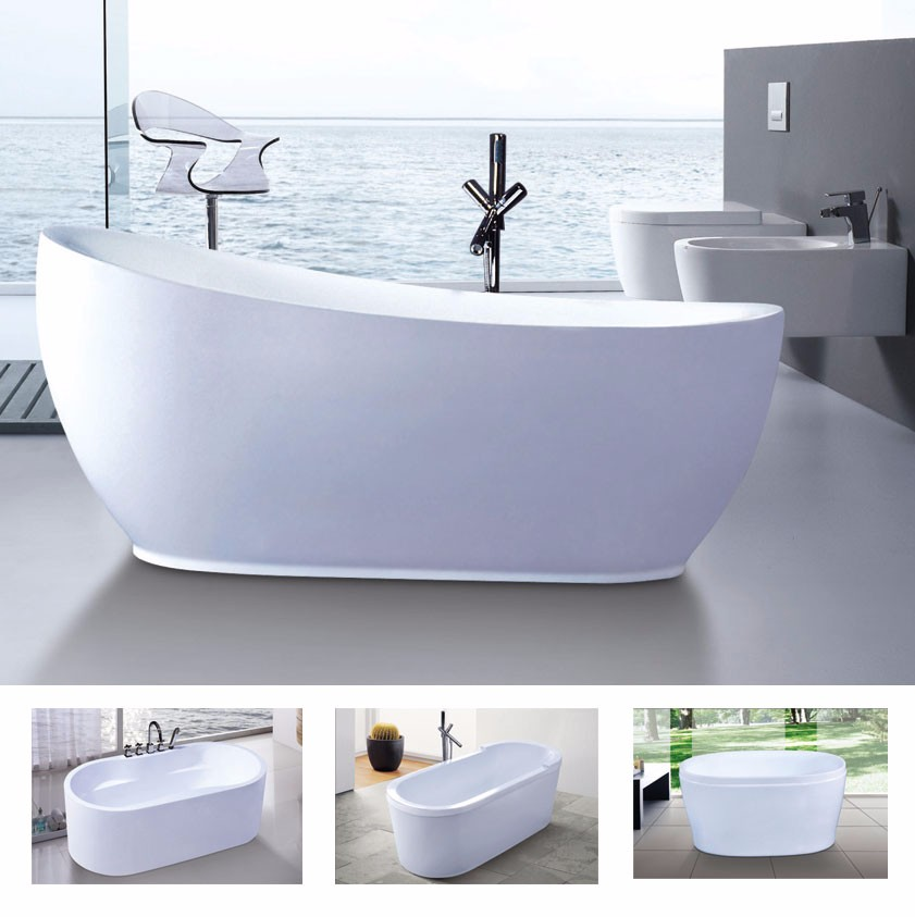 Hot sale classic cheap whirlpool hydro massage bathtub