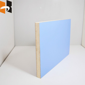 Double Sided Melamine Laminated Plywood / 4x8 Melamine Board