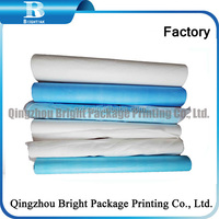 Disposable Medical Paper Bed Sheets for hospital, paper and PE film, Disposable Paper Couch Cover Rolls