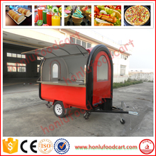 Mnufacture selling hot dog heater/mobile food trailer/fast food mobile kitchen trailer
