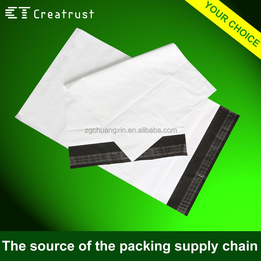 custom courier packaging bag of high toughness 3Mil plastic poly material