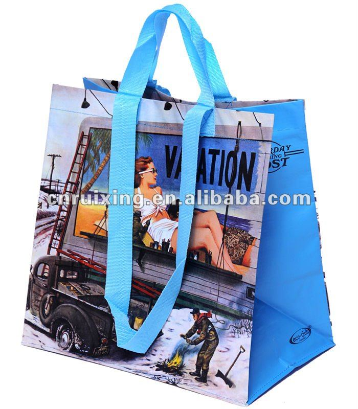 Recycle Non-woven Carry Bags(RX012025)
