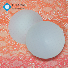 Huapai wholesale nice quality breathable molded round foam swimwear bra cup for sport bra