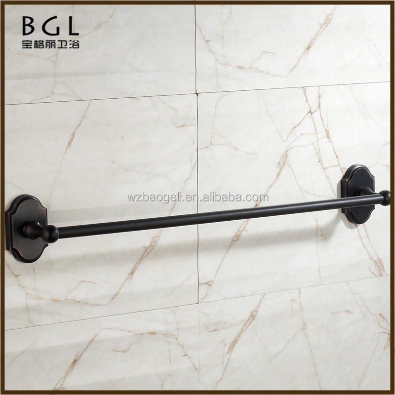 16224 Square shape Economical China manufacture Zinc alloy ORB plated Bathroom accessories extension towel bar