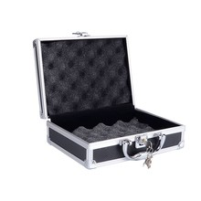 Aluminum Gun Case Hard Pistol Foam Padded Case small gun case