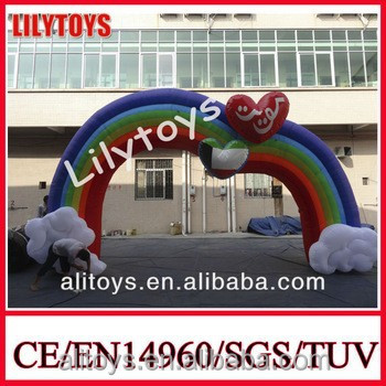 Ali Cheap inflatable advertising arch /Inflatable Arch Door