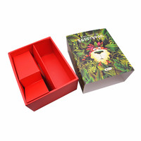 Custom Logo Sliding Out Drawer Box Fancy Gift Box for Belt Bow Tie Scarf Gift Paper Packaging with PVC Display Window