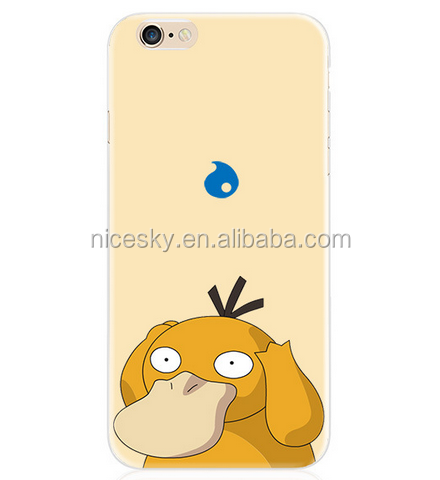 Wholesale Pokemons Plastic Hard Cell Phone Cover For iphone 6 6S Plus For Mobile phone Case