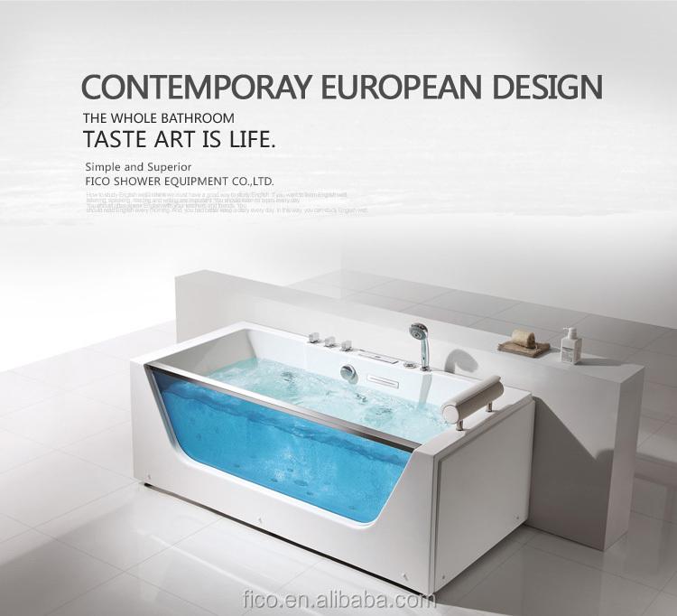 Fico Luxury Safety Glass Bathtub Fc-252 - Buy Luxury Safety Glass ...