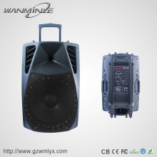 "2017 hot new products 15"" high quality large water dancing powered pa speaker"