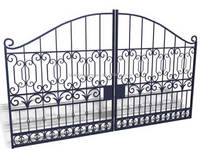 SE-G010 Wrought Iron Outside Main Gates