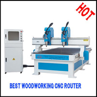 2016 New Top quality MDF 3D relief wood cnc router with vacuum table and dust collector system