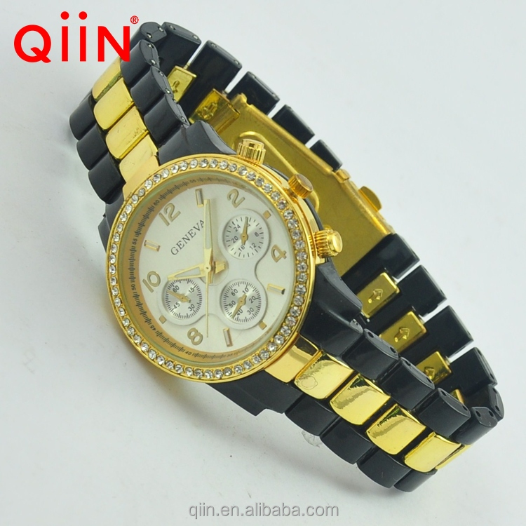 QA0022 popular geneva acrylic all branded watches names
