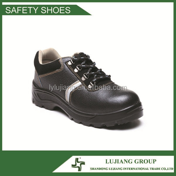 2015 new style leather safety shoes work shoes short cut