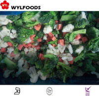 frozen IQF mixed vegetables with BRC HACCP