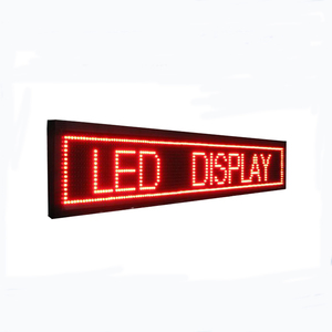 Outdoor P10 led moving message sign board display