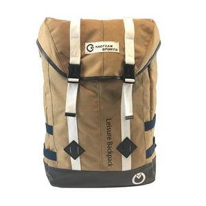 durable outdoor sports camping hiking canvas backpack