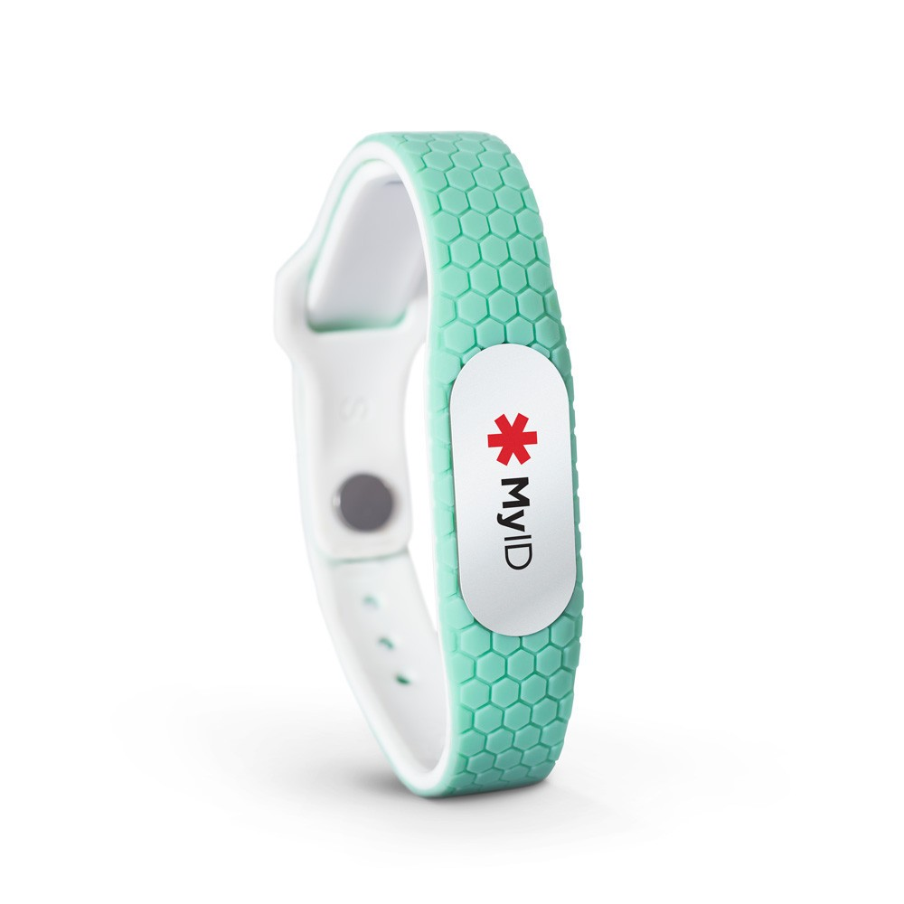 New Arrival strong silicone qr code bracelet with POD changable