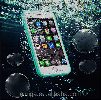 2016 newest waterproof mobile phone accessories for iphone 6 case wholesale