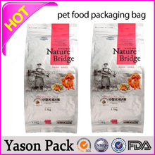 YASON nuts roll film pvc cling food packing pouchs tear notch and hanged hoel
