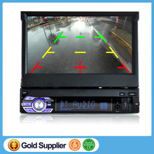 Car Stereo Radio Audio MP5 Player Support Bluetooth/USB/TF/Aux/touch screen In Dash 1 DIN 7 inch
