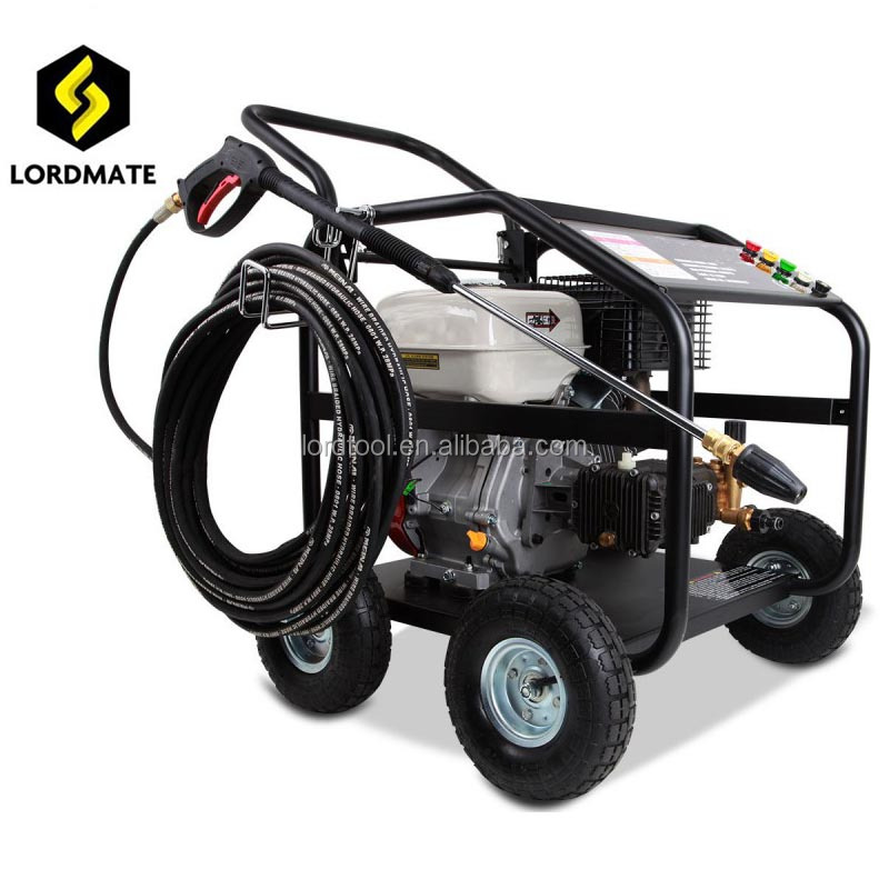 18HP 4000psi Electric start gasoline high pressure washer for garden cleaning