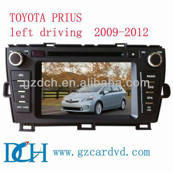car dvd gps android for TOYOTA PRIUS left driving 2009-2012 WS-9192