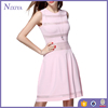 Western style pink long new style 2017 new year dress