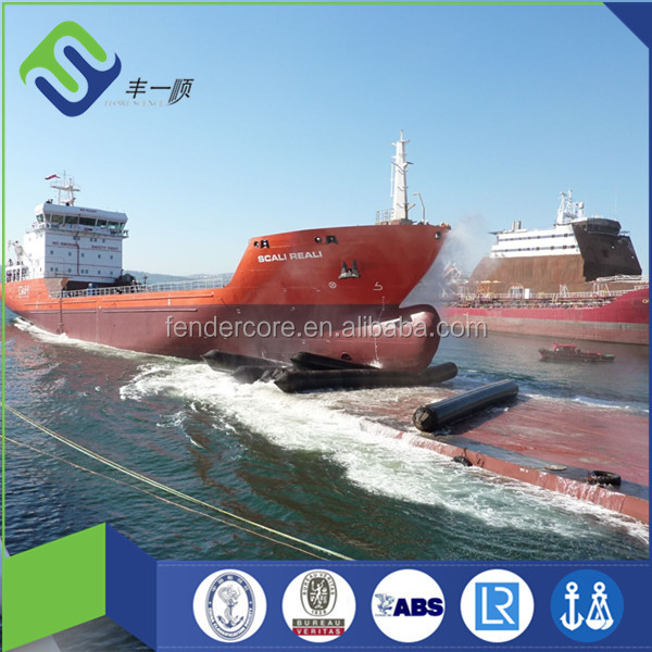Pneumatic Rubber Ship Launching Marine Airbag exported to Batam Indonesia