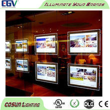 Magnetic Open Style Double Sided LED Ceiling Light Box Frame