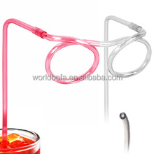 Crazy straw glasses drinking straw kid's funny bar accessories glasses straw