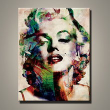 Wholesale Modern Handpainted Marilyn Monroe Art Painting On Canvas