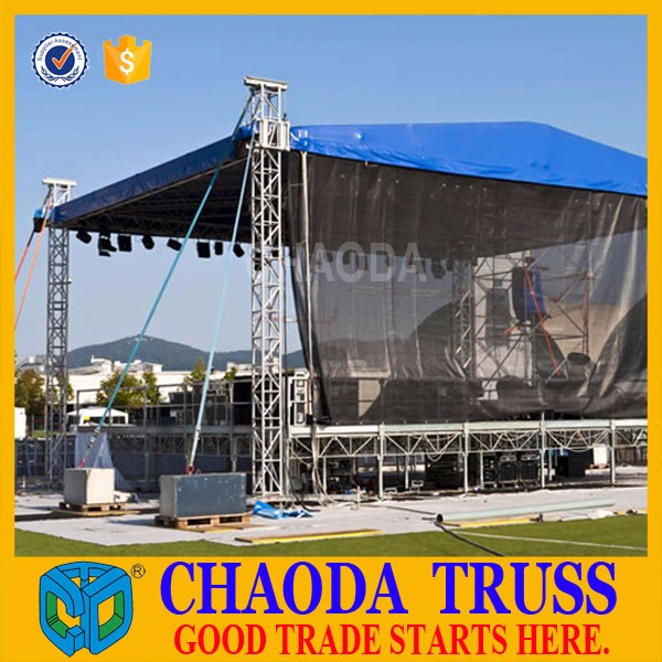 Factory price cheap used stage truss system for sale buy for Cheap trusses for sale