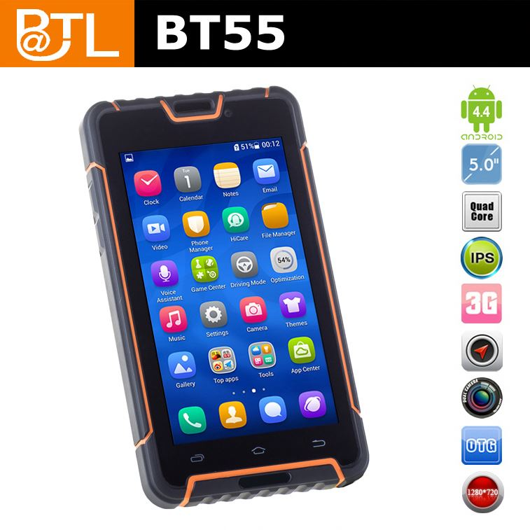 MTK 6592 2.0 GHz wifi 5MP+13MP BATL BT55 oem rugged phone