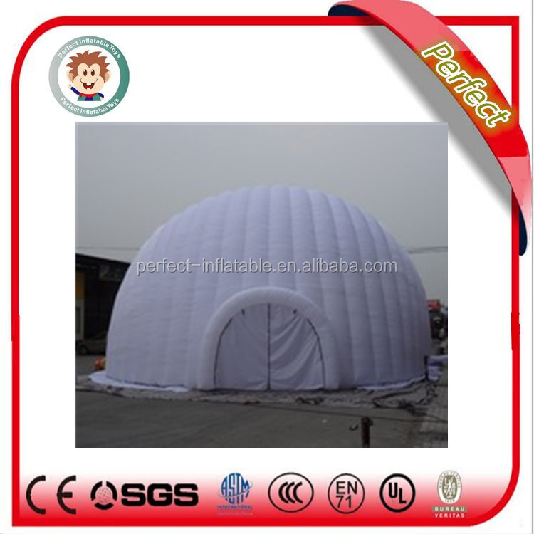 Guangzhou Perfect giant inflatable dome tent, inflatable air dome tent for sale