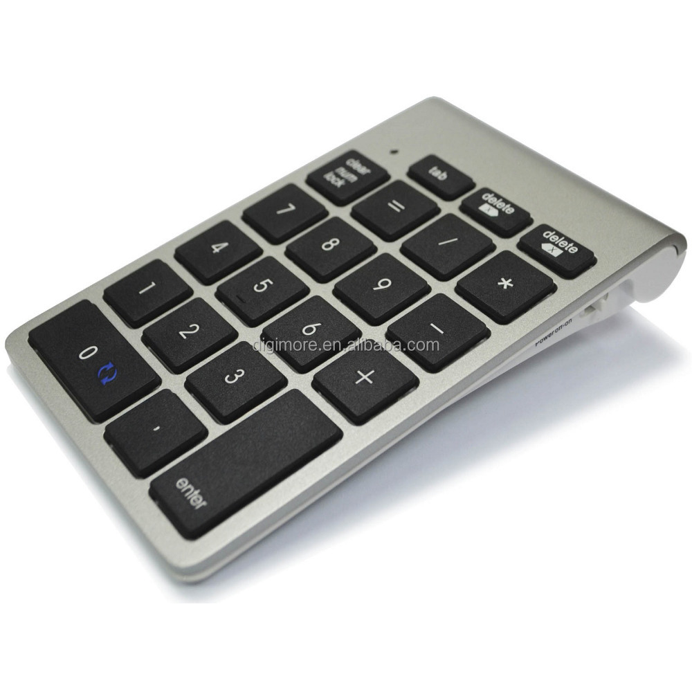 Wireless Bluetooth Numeric Keypad for PC Notebook Laptop, Non-synchronous Keypad