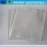 PET nonwoven needle punched fabric road constructIon materials