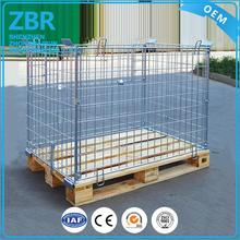 Galvanized container steel storage cages underground metal containers