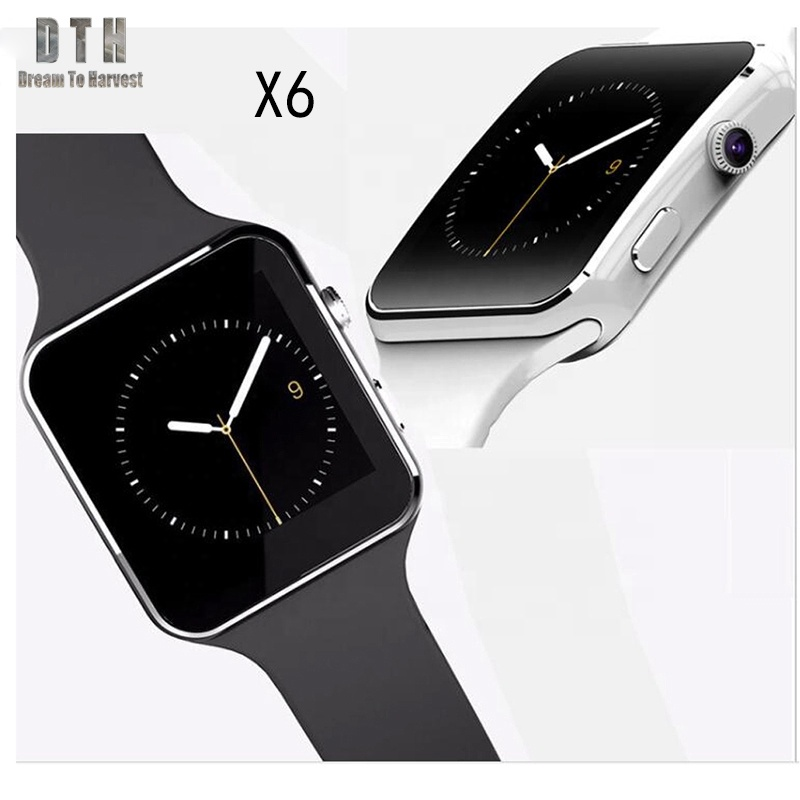 Hot Selling smartwatch Bluetooth sport style x6 Smart Watch dz09 <strong>a1</strong>