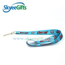 Factory directly sell custom woven lanyards no minimum order